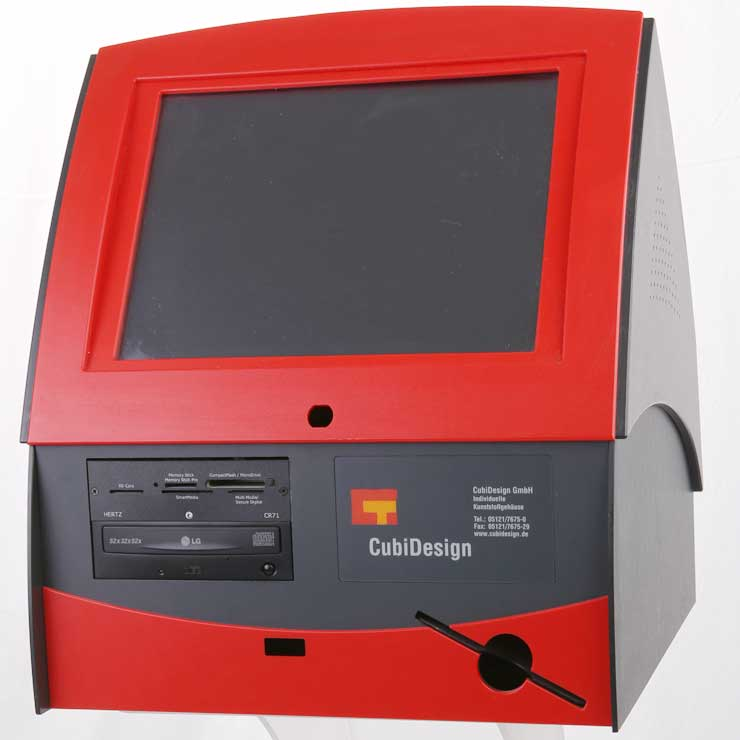 Gehäuse für digitalen Fotodrucker